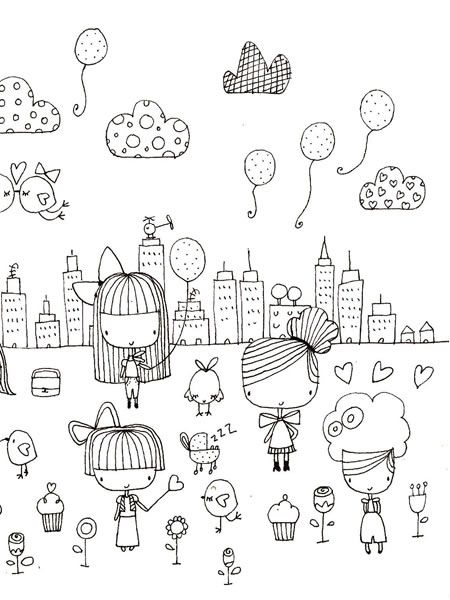➸ Inspiration: Love the fun and simple doodles!