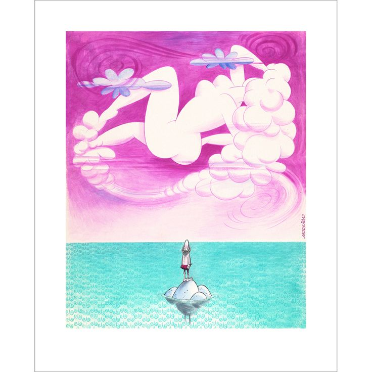 """""""The Mirage"""" Exclusive Original Limited Edition Fine Art Print available from www.mordilloart.com"""