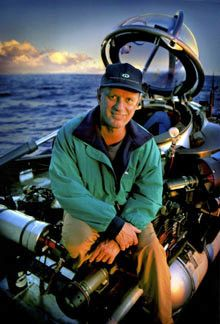Robert Ballard | Ocean Explorer & former United States Navy | Sept 1, 1985 Ballard discovered Titanic and confirmed that the ship had split in two. | July 12, 1986, Ballard returned with Alvin, a deep diving submersible that could hold a small crew. Alvin was accompanied by Jason Junior, a small remotely operated vehicle that could fit through small openings to see into the ship's interior. Ballard produced a detailed photographic record of the wreck's condition.