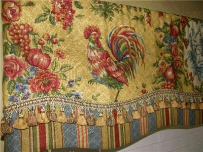 Image Detail For French Country Valance Waverly Fabric