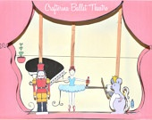 Beautiful Puppet Theatre for $6.50!  PDF Download!Puppets Theater, Beautiful Puppets, Ballerinas Shops, Puppets Theatres, Crafterina Ballerinas, Ballerinas Puppets
