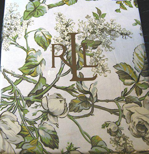 Ralph Lauren Grace Floral Tablecloths Multi   100% Cotton  Assorted Sizes   Oblong