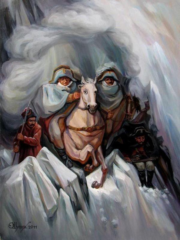 opticke iluzie Oleg Shuplyak 14