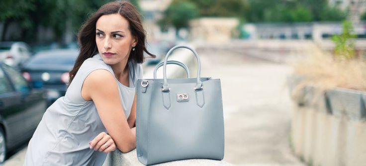 Poșeta Nobo - achiziția săptămânii Grey bag, Grey blouse, work outfit