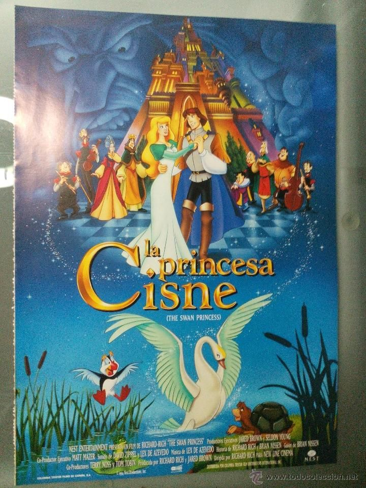 La princesa cisne. The swan princess. 1994. Nest Productions, inc
