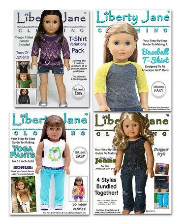 Basics Doll Outfit Pattern Set