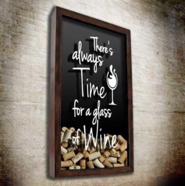Vin - bouchon - liège - cadre