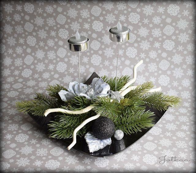 .:Jotkaa:. rękodzieło....beading, sutasz, papierowa wiklina...: Stroiki świąteczne