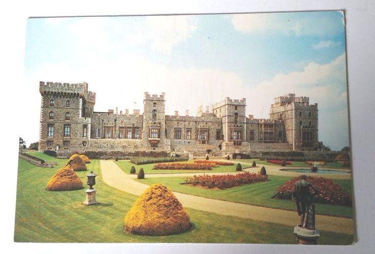 Berkshire Windsor Castle East Terrace J Arthur Dixon DRG Postcard England