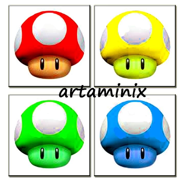 Super Mario Pop Art Fungo