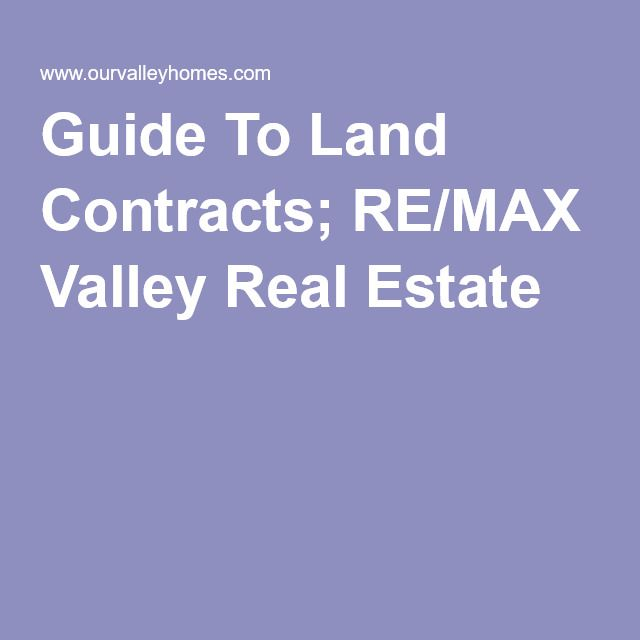 108 best re owner financing images on Pinterest Real estate - land contract basics