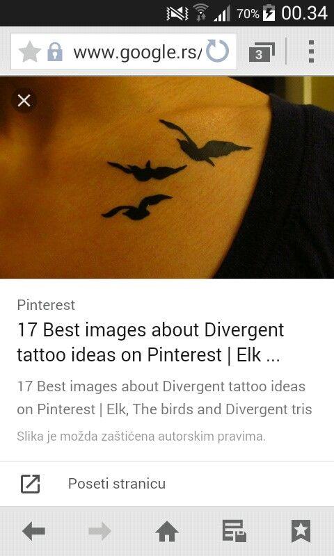 Divergent tattoo,beautifull.