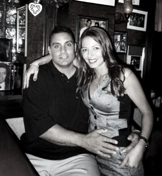 """""""Mob Wives"""" Drita and her mob associated hubby"""