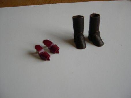 Calzado mini realizado por mí