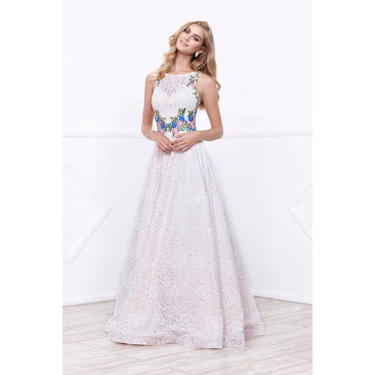 2017 Affordable Fairytale Ivory & Gold Ball Gown Lace A-line Prom Dres – Frugal Mughal