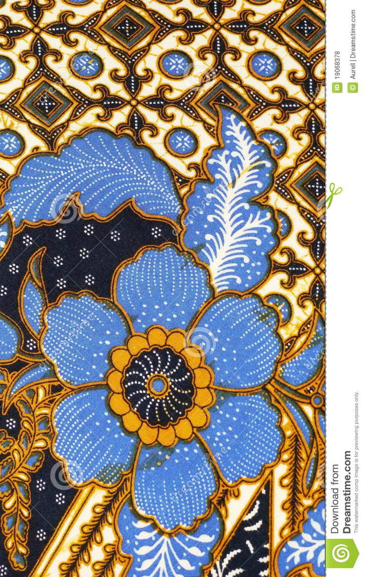 Batik Pattern, Indonesia - Download From Over 41 Million High Quality Stock Photos, Images, Vectors. Sign up for FREE today. Image: 19068378