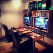 Video Game Room Ideas To Maximize Your Gaming Experience(56)