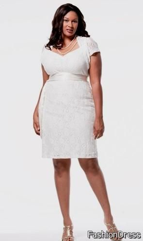 Cool plus size white club dresses 2017-2018