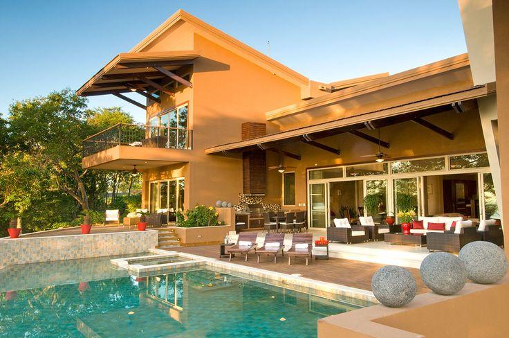 Villa Belvedere, Costa Rica. TWO private pools, hot tub, Pacific sunset views