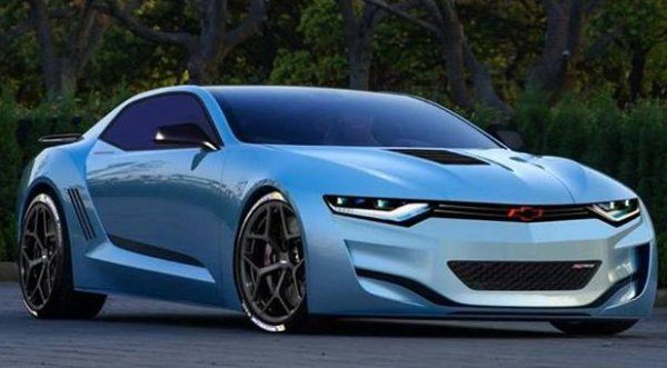Now This is a Much More Livable 2016 Chevrolet Camaro Rendering ...