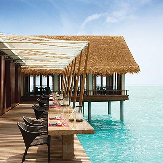 World's Best Restaurant Views: Tapasake, One&Only Reethi Rah