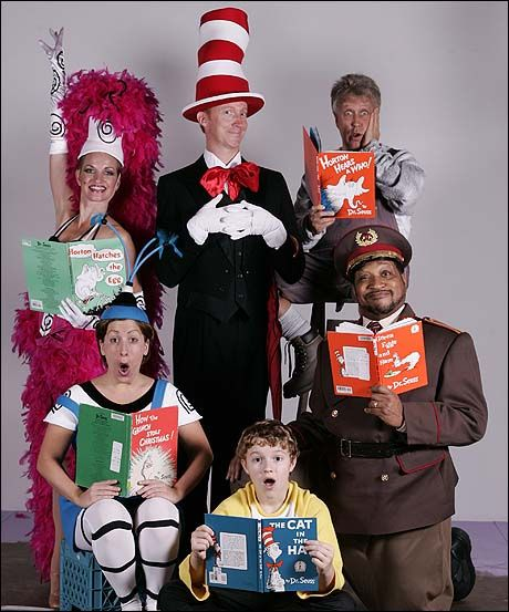 The Cast Of The Human Race Theatre