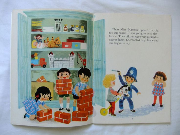 TOPSY AND TIM AT SCHOOL Jean & Gareth Adamson 1st 1968 Blackie