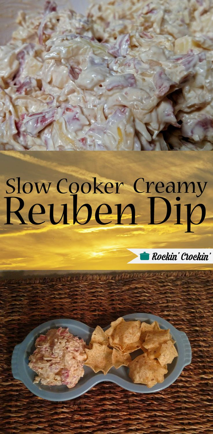 This dip was a huge hit at my office potluck, it tastes just like a Reuben sandwich without the bread.