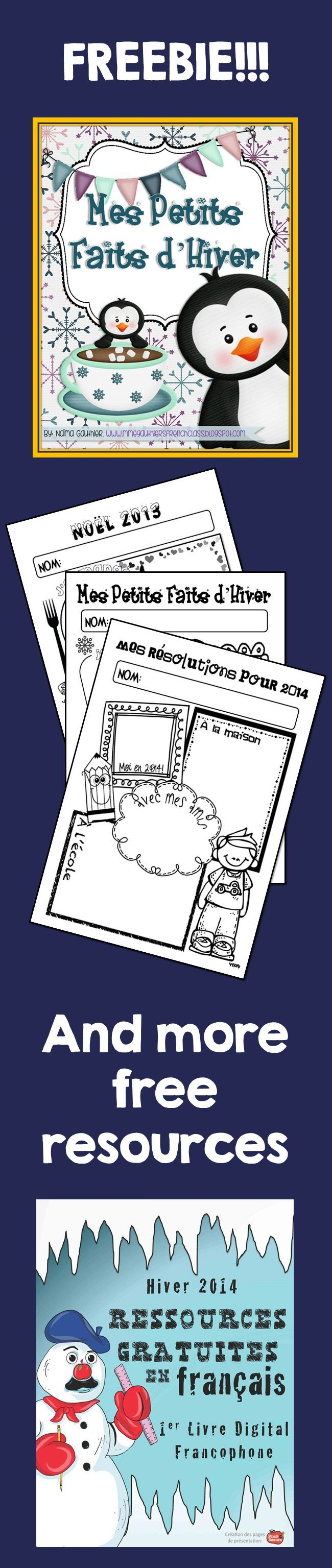 FRENCH TIPS & FREEBIES eBOOK - 21 teachers have worked hard to put together the 1st ever French eBook on TpT. Download my contribution and many more by following this link!