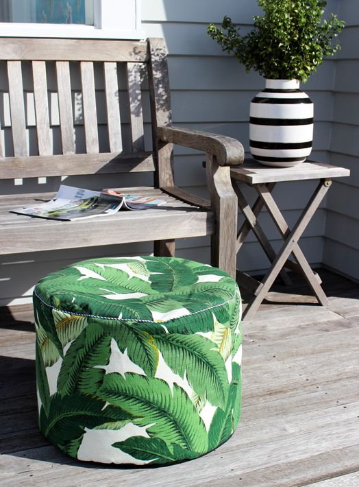 Indoor/Outdoor Pouf | Bibby + Brady