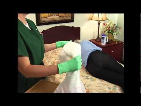 Applying Adult Diapers Amp Briefs In A Lying Position