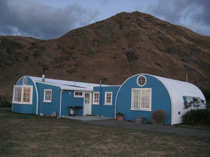 accommodation second day - old Nissan huts Tora Walk