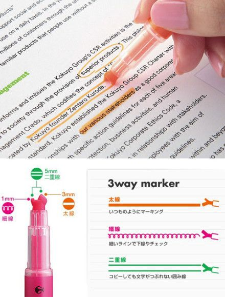 The coolest highlighter ever... NEED these!!!