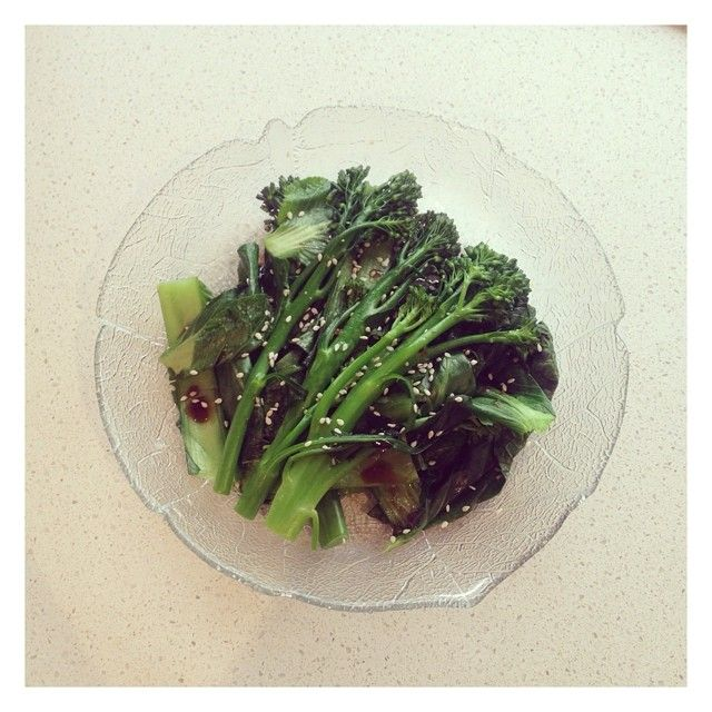 Sometimes all you want is a simple plate of Asian greens www.diaeta.com.au