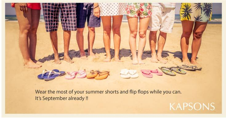 Wear the most of all summer ! Do the most of all summer. It's gonna be chilly soon ! #Kapsons