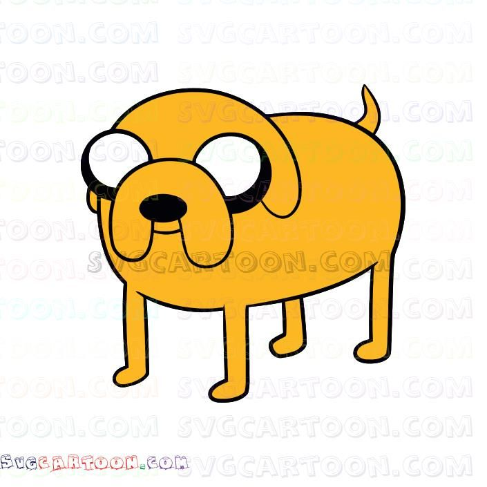 Jake The Dog Adventure Time Svg Dxf Eps Pdf Png Jake The Dogs Dog Adventure Poster Prints