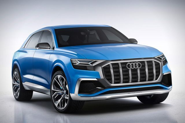 The Audi's Q8 was launched in January 2017 and an improved version of the full sized SUV is under concept phase that would be unveiled as the 2018 Audi Q8.