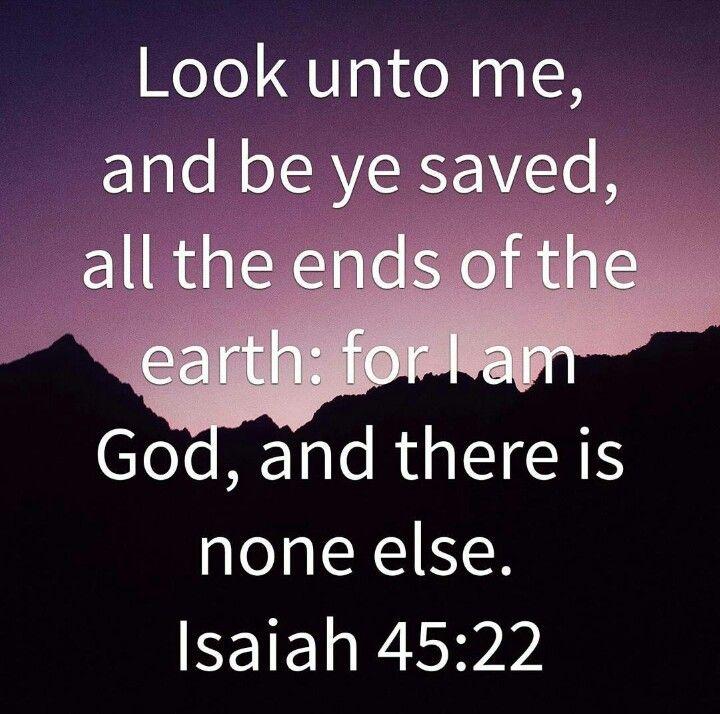 Isaiah 45:22
