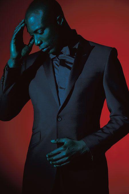 Effortlessly stylish; Savile Row's Oswald Boateng