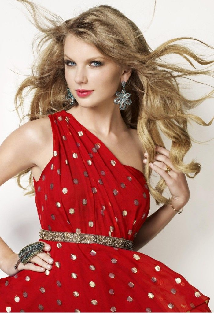 Taylor Swift Outfits | Details about Taylor Swift Poster - Red Dress - New - 13x19 High Gloss