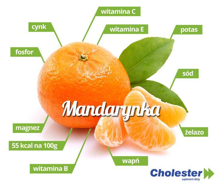 Mandarynki to słodkie i soczyste młodsze siostry pomarańczy. Posiadają one wiele cennych wartości odżywczych.   #cholester #mandarynki #dieta #kalorie #owoce