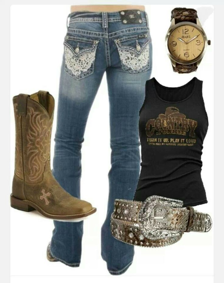 Cowgirl clothes