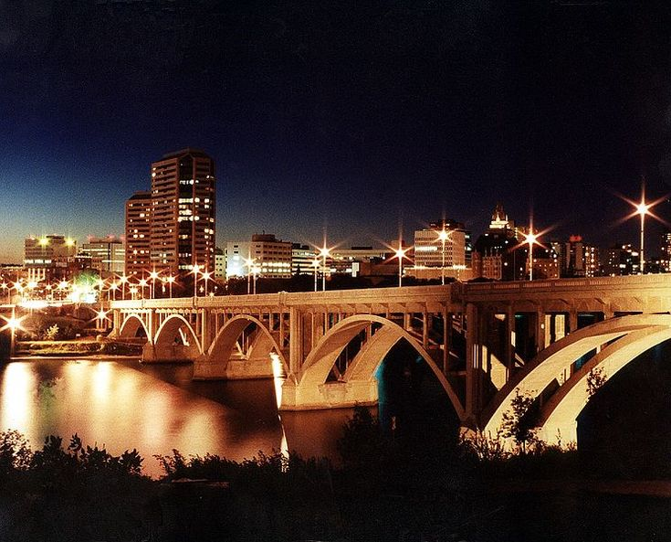Saskatoon! Definately a city of bridges...cool place to take pictures