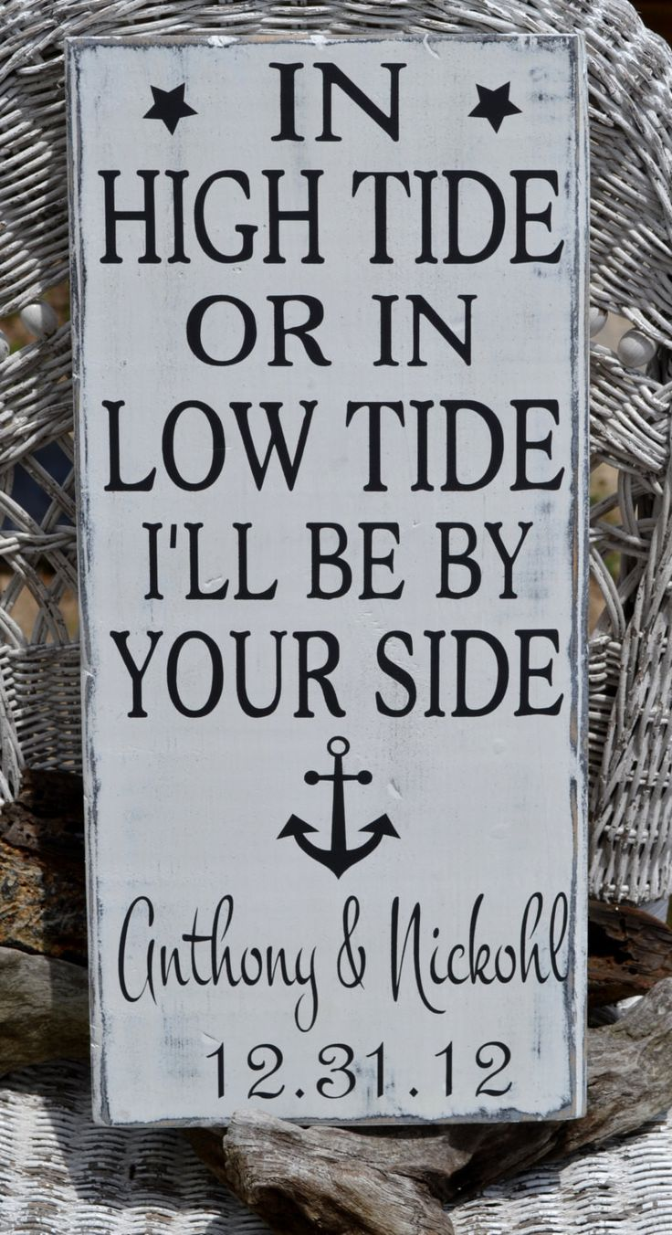 The 1312 best Wood Signs Wedding Beach Lake Home images on Pinterest ...