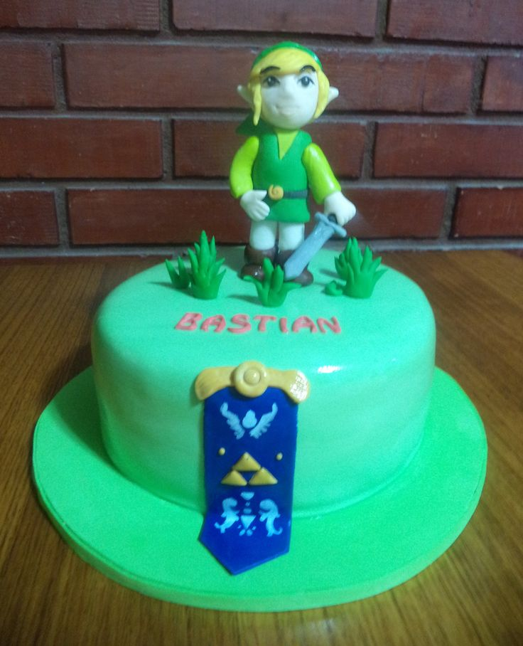 #Zelda #link  #fondant #cake by Volován Productos #instacake #Chile #puq #VolovanProductos #Cakes #Cakestagram #SweetCake #cakelovers