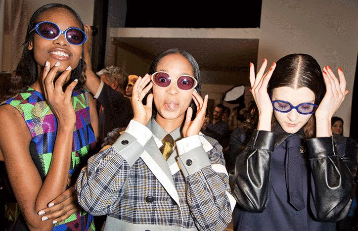 Selima x Creatures of the Wind Fall 2013 via Glamour mag. See All of Fall 2013 Fashion Week on Repeat, Thanks to These GIFs!