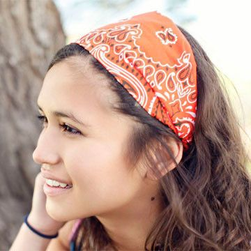 Hairstyles With Bandana Best 99 Best Bandana Hairstyles Images On Pinterest  Head Scarfs