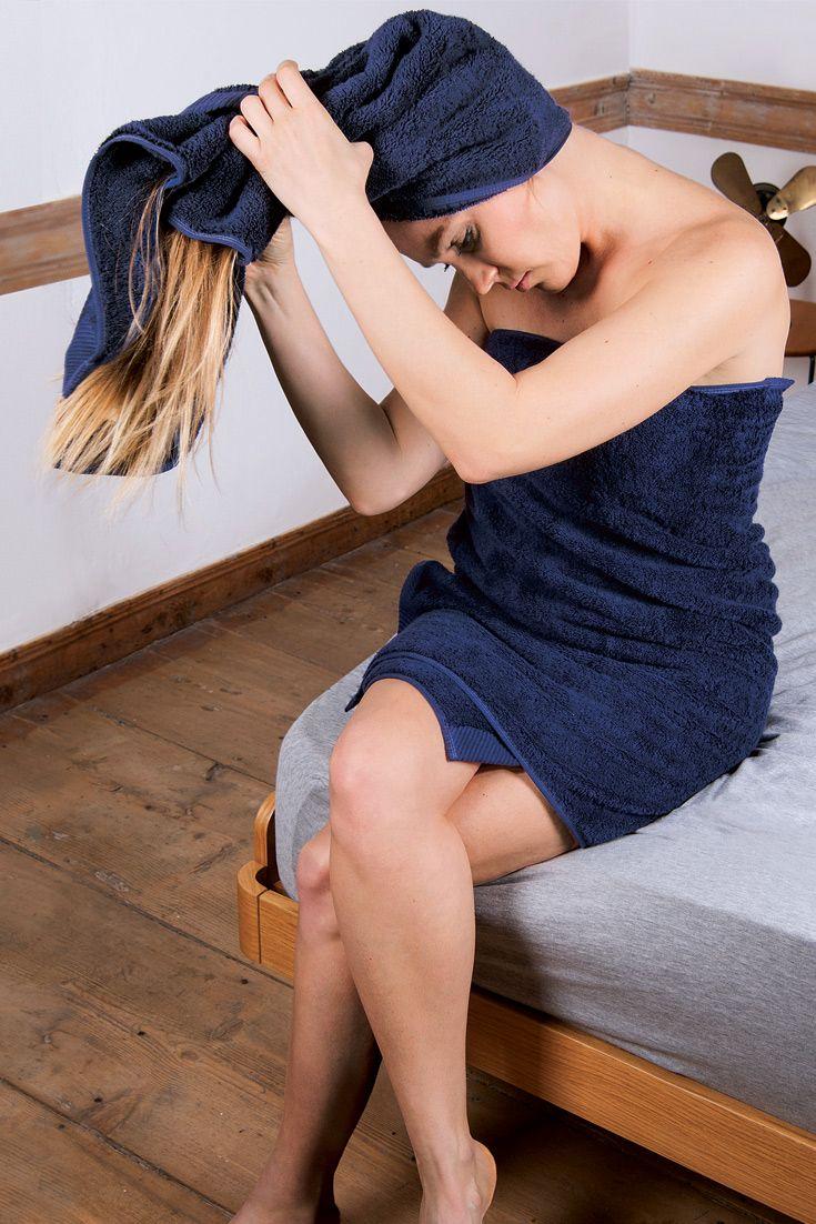 """Handtuch """"Gradito"""" in handlichem Format! Das Handtuch aus Bio-Baumwolle ist nicht nur hautsympathisch, es eignet sich außerdem perfekt als Zusatz-Handtuch. Egal ob für die langen Haare oder einfach mal schnell zum Hände trocknen."""