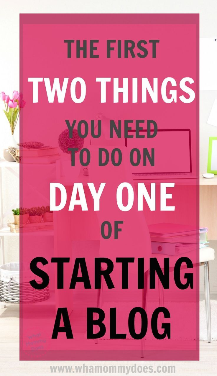 If you need a SIMPLE checklist of things to do on your first day of start a blog, this is it! Follow these tips of what to do (and what NOT to do) in the beginning of your blogging journey. This blogger really knows her stuff! | start a blog checklist, free blogging advice