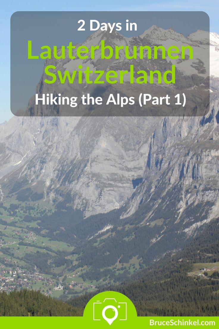 Looking for a trip that will take your breath away?  Our off-season visit meant we enjoyed some incredible Lauterbrunnen hiking! If you haven't been, you definitely want to put this place on your bucket list!  Check out the first of a 2-part series exploring the region | hiking in the alps | Lauterbrunnen hiking | Jungfrau Joch | Lauterbrunnen valley |